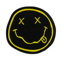 Nirvana Smiley Iron-On Patch