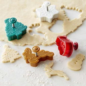 Williams Sonoma Holiday Pie Crust Cutter Set