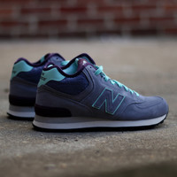 New Balance - 574 Mid-Cut Playful - Purplehaze with Aqua