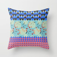 Mix 01 Throw Pillow by mirimo