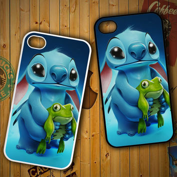 Disney Stitch wallpaper art Y1111 LG G2 G3, Nexus 4 5, Xperia Z2, iPhone 4S 5S 5C 6 6 Plus, iPod 4 5 Case