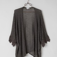 Coco & Jameson Open Weave Cardigan Sweater