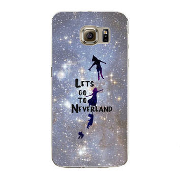 Samsung Galaxy S7 Edge Soft Silicon TPU Peter Pan Printed Case Back Cover