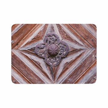 "Ann Barnes ""Bavaria"" Brown Gold Photography Memory Foam Bath Mat"