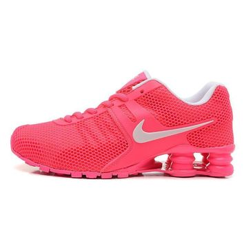 Nike Shox Current Woman Men Fashion Breathable Sneakers Sport Shoes-4