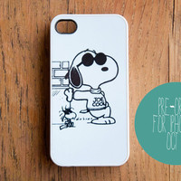 Joe Cool Snoopy iPhone 5 Case Peanuts Charlie Brown