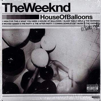 The Weeknd - House Of Balloons 2x LP Vinyl NEW