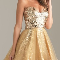 Night Moves 6498 Dress - In Stock - $278