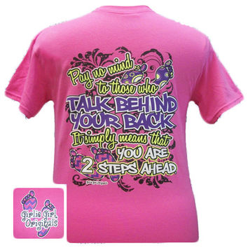 Girlie Girl Originals Funny 2 Steps Bright T Shirt