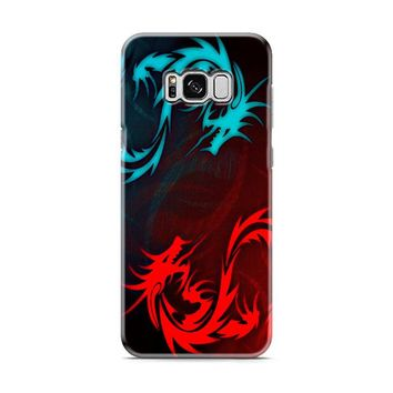 Water And Fire Dragons Samsung Galaxy S8 | Galaxy S8 Plus case