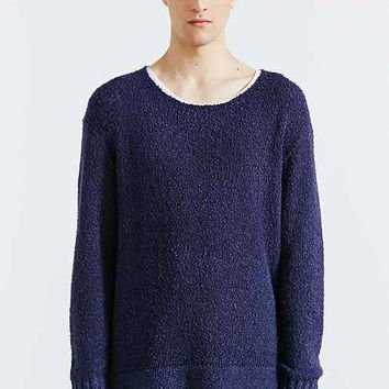 Your Neighbors Boucle Crew Neck Sweater-