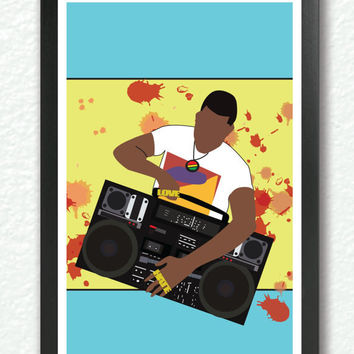 Classic Movie Poster - Do the right thing, pop art, retro art, hip hop poster, fun cool poster, 1980s A3 Poster