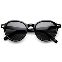 New Round Indie Fashion Eyewear Dapper Sunglasses 8836