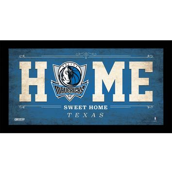 Dallas Mavericks 10x20 Home Sweet Home Sign
