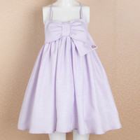 Over-sized Bow Babydoll Dress