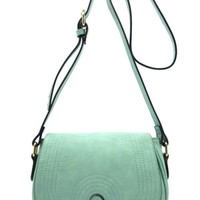 Saddle Bag Flap Crossbody Bag