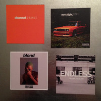 Frank Ocean MAGNETS discography Hip Hop Rap collectible music gift Odd Future R&B OFWGKTA DJ Mixtape vinyl