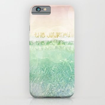 The Journey iPhone & iPod Case by Jenndalyn | Society6