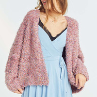 Pins And Needles Fluffy Oversized Cardigan | Urban Outfitters