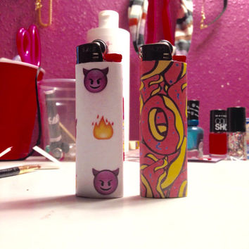 Emoji / Odd Future lighter