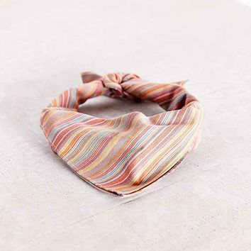 FORAGE Haberdashery Multi-Stripe Neckerchief  - Assorted One