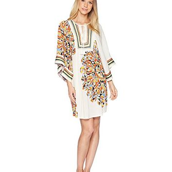 Tory Burch Swimwear Kaleidoscope Beach Tunic Cover-Up
