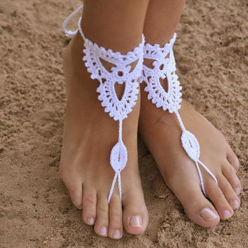 Knitted Barefoot Sandals