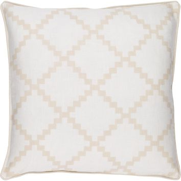 Parsons Throw Pillow Neutral, Neutral