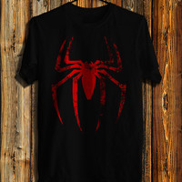 Spiderman Logo Men's T-shirt, Spiderman Shirt Inspired Marvel T-shirt, Awesome Shirt