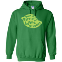 Take A Bite Out of Lyme Disease - Pullover Hoodie