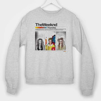 The Weeknd R&B Band Singer Music long sleeves for mens and womens by usa