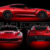 C7 Corvette Oracle Underbody Illumination Kit