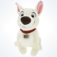 "Disney Parks Authentic Bolt 10"" Plush New With Tags"