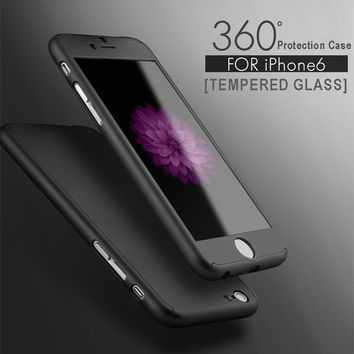 0.3mm Slim Ultra Thin Colorful Transparent phone Case For iphone 6 4.7 inch Silicone+Acryli Clear Phone Back Cover