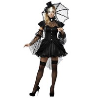 Victorian Doll Costume - Adult (Black)