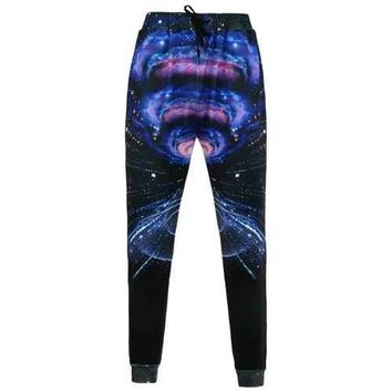 Galaxy 3D Print Jogger Pants - Xl