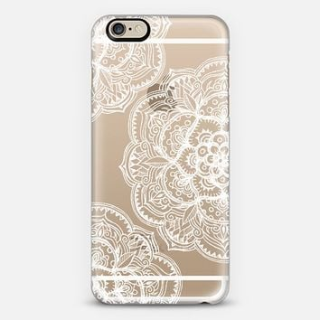 Chalk White Medallions On Transparent From Casetify Things I