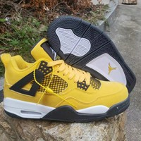 Air Jordan 4 Retro AJ4 Tour Yellow