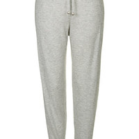 Cashmere-Touch Lounge Joggers - Grey