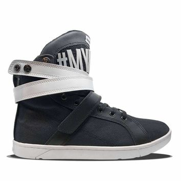 #MyHeyday Black Super Shift Hightop Sneakers