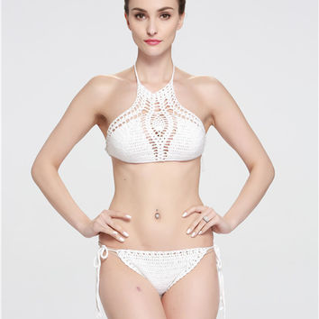 Hot Summer Swimsuit New Arrival Beach Swimwear Hot Sale Sexy Set Crochet Bikini [9883584906]