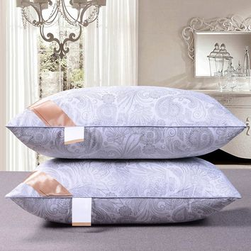Rectangle Pillow Filling Cushion Stuffing Core Inner High Quality Insert Comfortable Hotel Home White Bed Neck 40x68 42x70 48x74