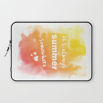 Always summer Laptop Sleeve by EDrawings38 | Society6