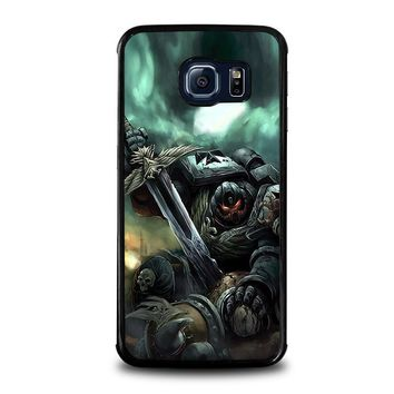 warhammer black templar samsung galaxy s6 edge case cover  number 2