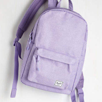 Pack on Track Backpack in Lilac by Herschel Supply Co. from ModCloth