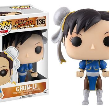 Chun-Li Street Fighter Funko Pop! Figure #136