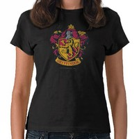 Gryffindor Crest Gold and Red Shirt from Zazzle.com