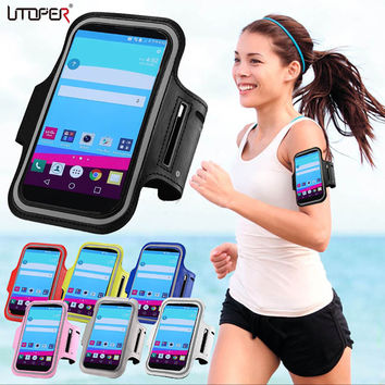 Running Sport Gym Armband Bag Case For LG Optimus G2 / G3/ G3 MINI / G4/ G4S Waterproof Jogging Arm Band Mobile Phone Belt Cover