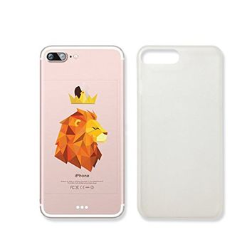 Lion King Clear Transparent Plastic Phone Case for iphone 7_ SUPERTRAMPshop (iphone 7)
