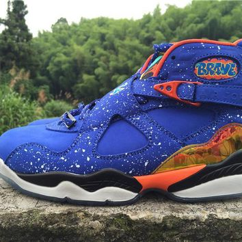 Beauty Ticks Nike Air Jordan 8 Retro Doernbecher Cheap Sale Jd 8 Discount Men Sports Basketball Shoes 729893-480